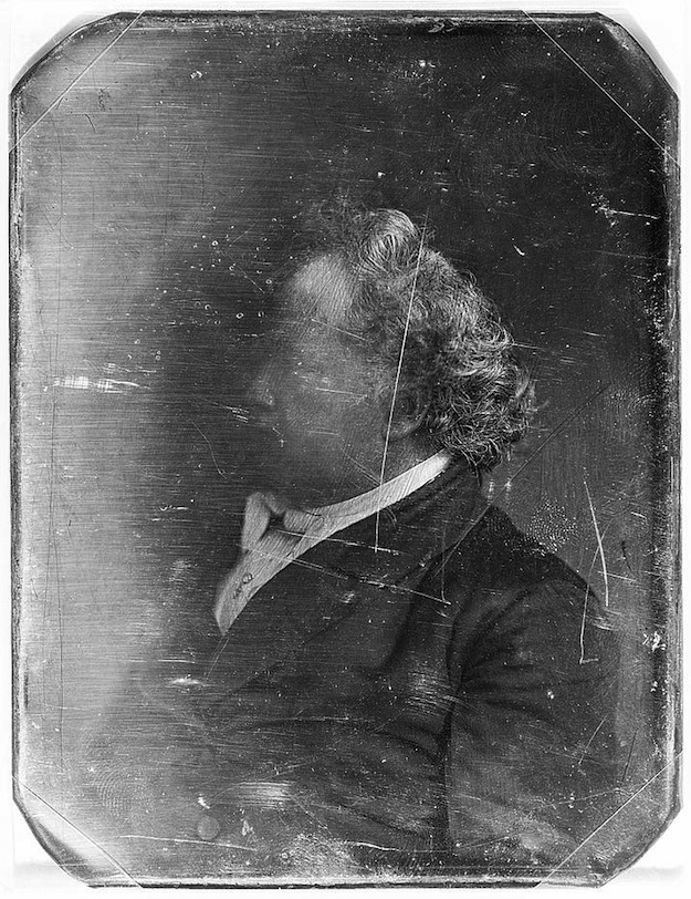 Daguerreotype portrait of a man