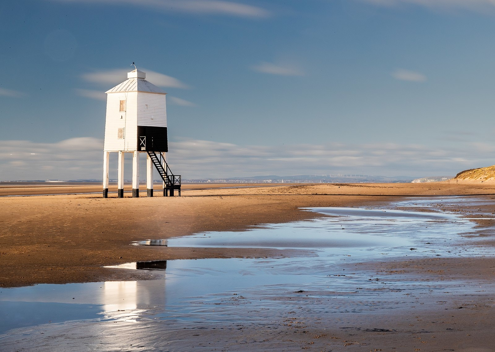 Lighthouse on stilts at Burnham-on-Sea