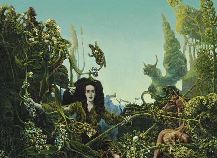 Leonora in the Morning Light (1940) by Max Ernst