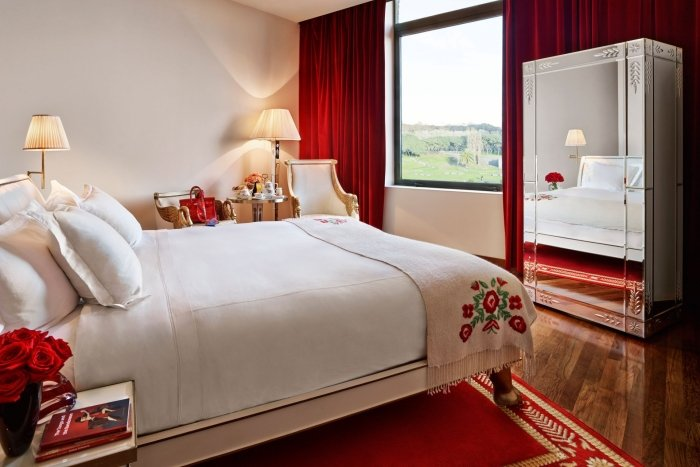 park view hotel bedroom