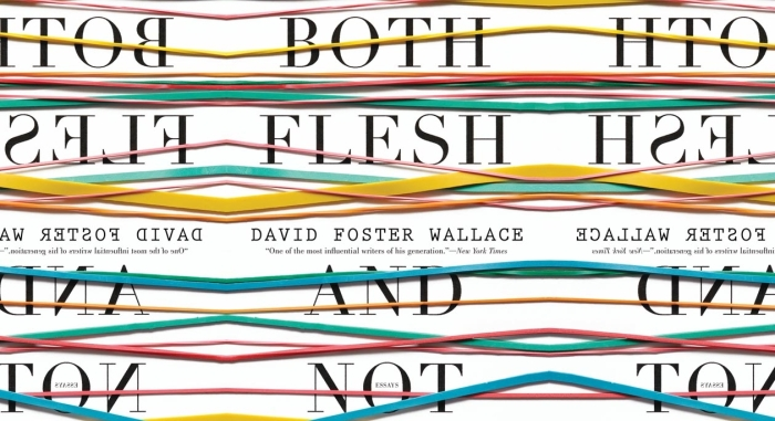 "Book cover of David Foster Wallace's ""Flesh"""