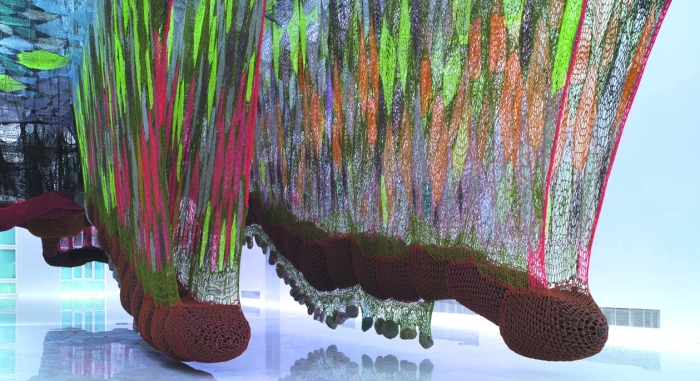 Ernesto Neto large scale sculptures