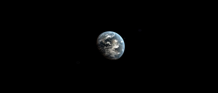 View of the Earth from space