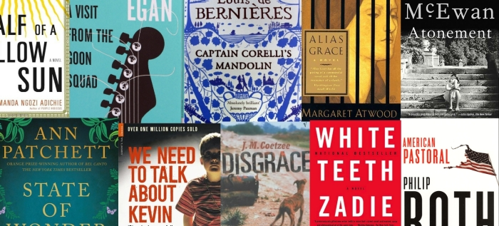 Best 20 novels of the last 20 years