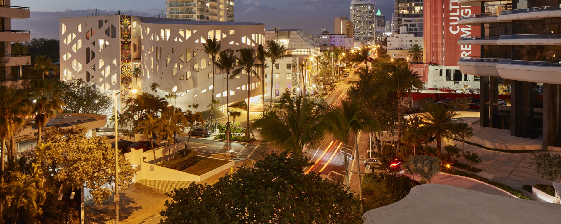 faena district at night