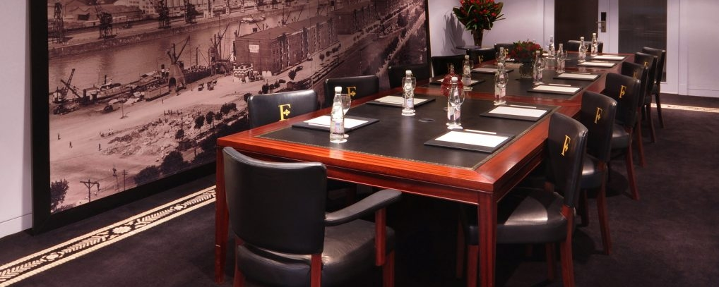 business room boardroom table