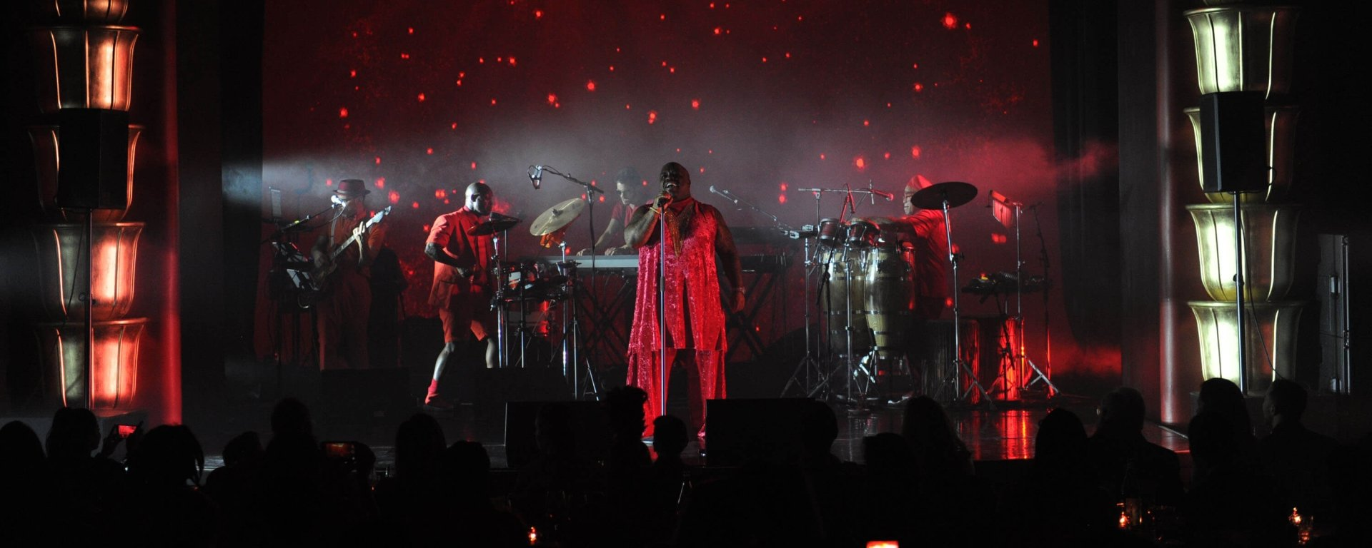 CeeLo Green performing at Faena Theater