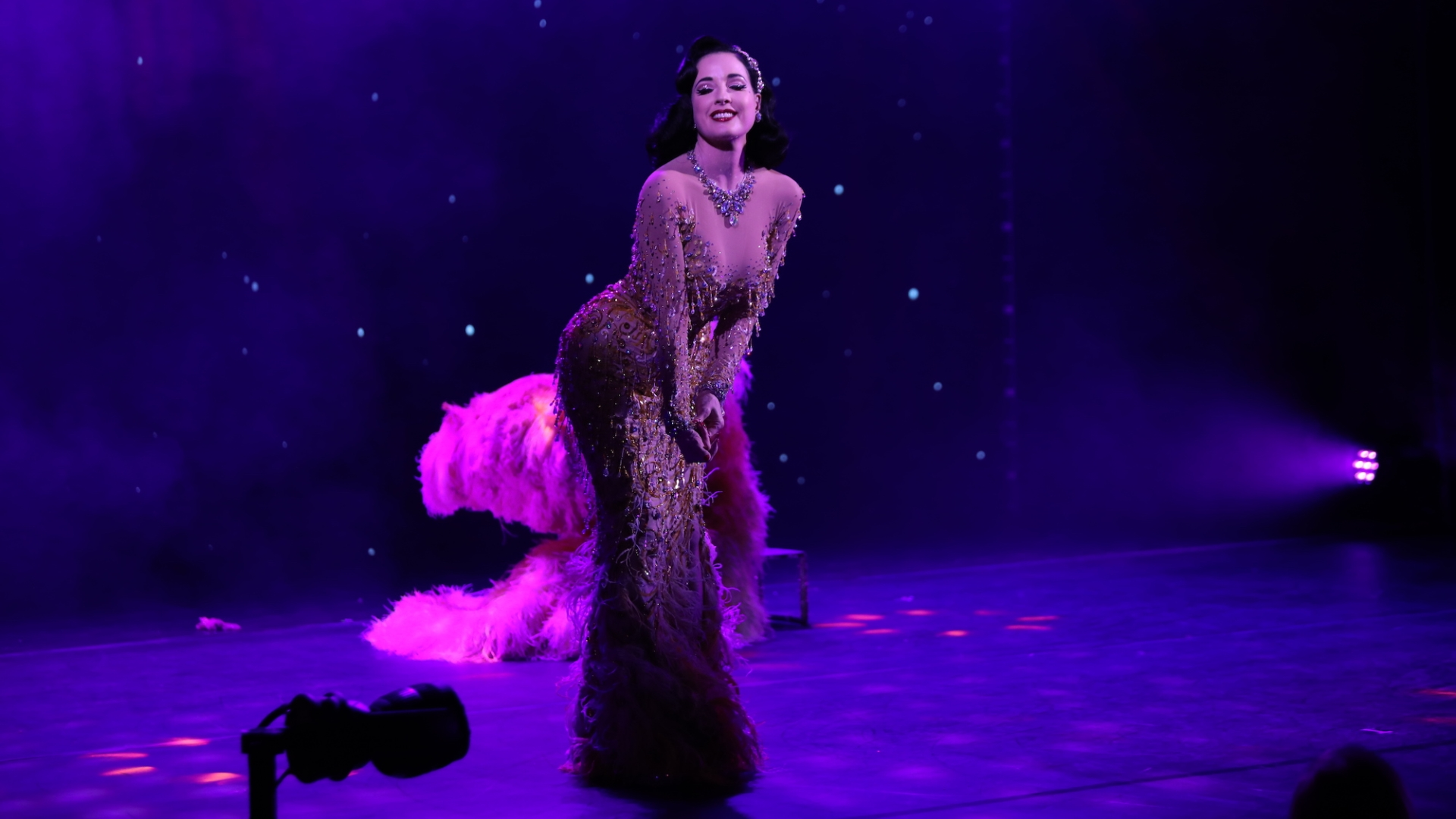 Dita Von Teese at Faena Theater