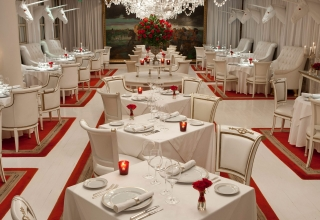 Dining room of Bistro Sur