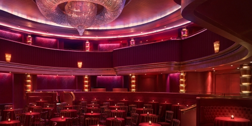 faena theater interior seating